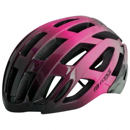 Force HAWK Fahrradhelm schwarz/pink 1
