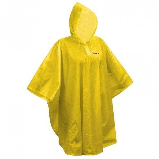 Force PONCHO Kinder Regenschutz gelb 1