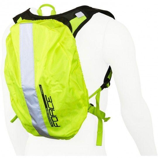Force Raincover for backpacks (48x35cm) Regenschutzhülle für Rucksack neongelb (896649) Universalgröße