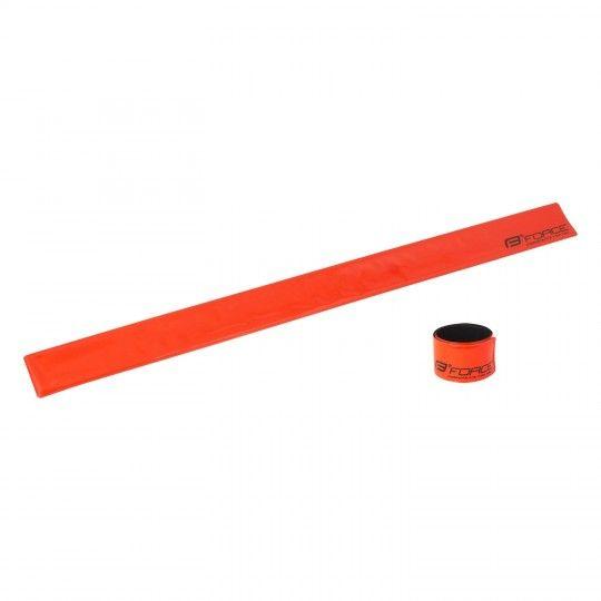 Force reflektirendes Schnappband orange 1