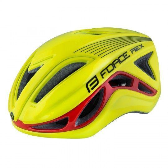 Force REX Fahrradhelm neongelb 1