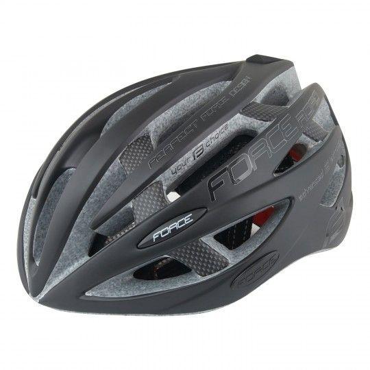 Force ROAD Fahrradhelm schwarz matt 1
