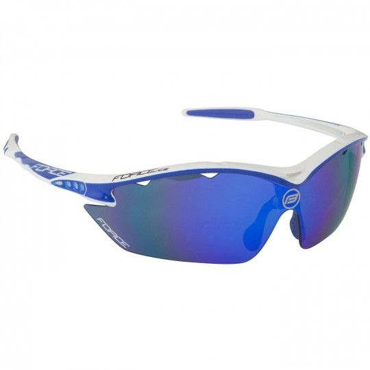 Force RON Rad-/Sportbrille weiß blau 1