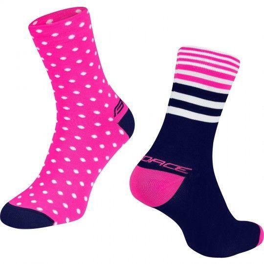 Force SPOT Radsocjen pink/blau 1