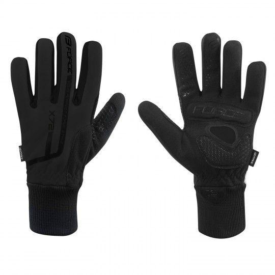 Force X72 Fahrradhandschuhe langfinger schwarz 1