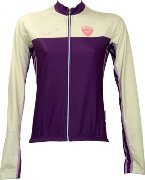 GERBERA violett Damen Radsport-Trikot (Langarm-Trikot) - NALINI Radsportbekleidung Größe M (3)