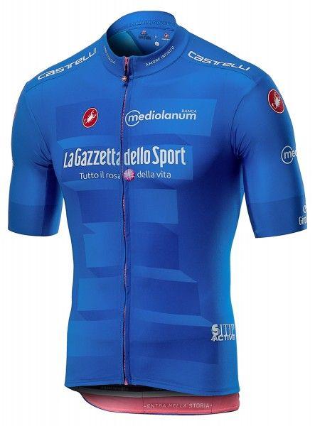 Giro d'Italia 2019 MAGLIA AZZURRA (blau) Radtrikot kurzarm  - Castelli Größe XXL (6)