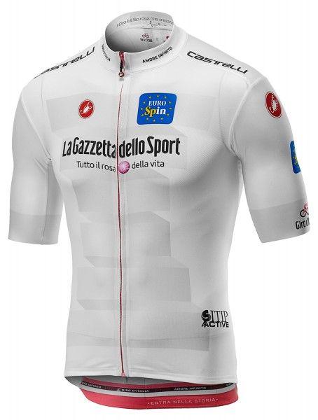 Giro d'Italia 2019 MAGLIA BIANCO (weiß) Radtrikot kurzarm 1