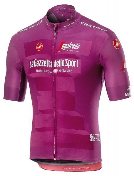 Giro d'Italia 2019 MAGLAI CICLAMINO (lila) Radtrikot kurzarm 1
