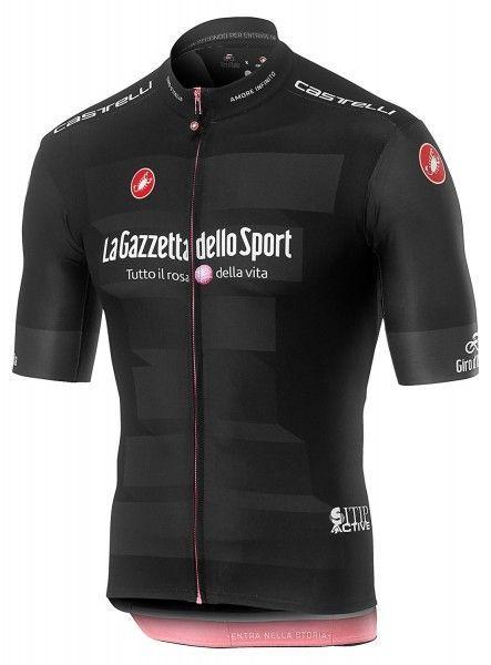 Giro d'Italia 2019 Maglia NERA Radtrikot kurzarm schwarz 1