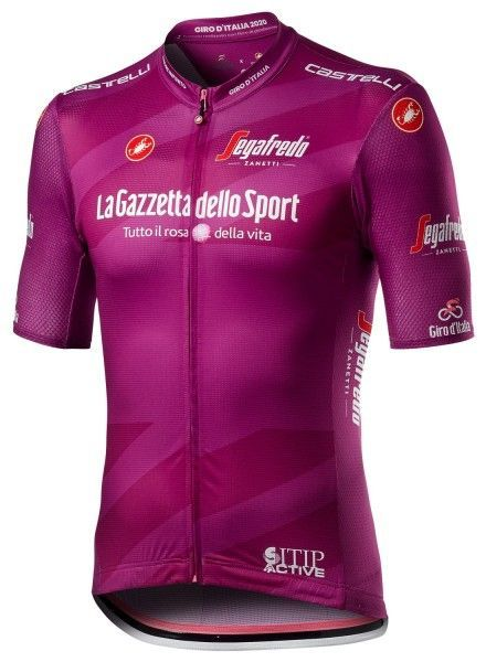 Giro d'Italia 2020 MAGLAI CICLAMINO (lila) Radtrikot kurzarm 1