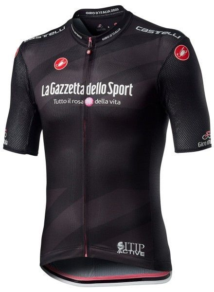 Giro d'Italia 2020 Maglia NERA Radtrikot kurzarm schwarz 1