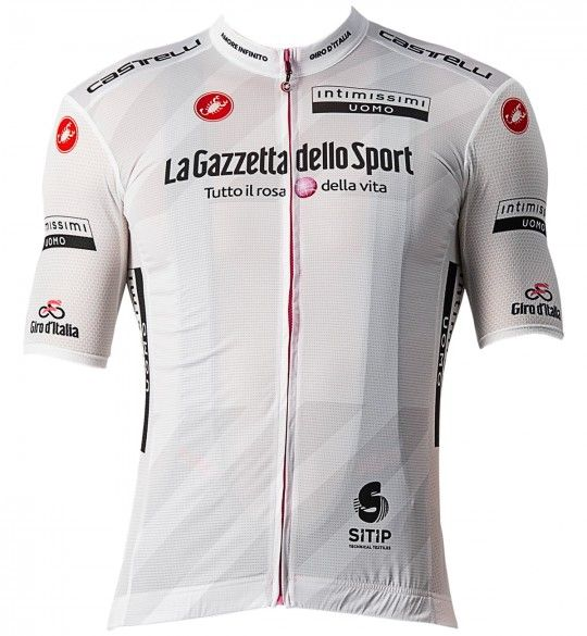 Giro d'Italia 2021 MAGLIA BIANCO (weiß) Radtrikot kurzarm 1