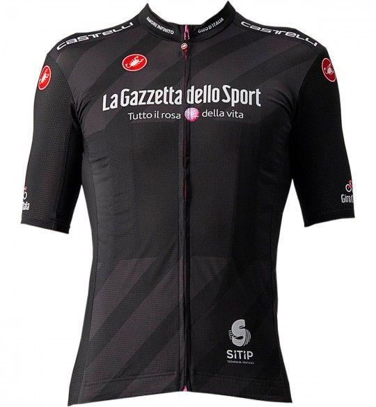 Giro d'Italia 2021 Maglia NERA Radtrikot kurzarm schwarz 1