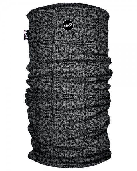 HAD Schlauchtuch Printed Fleece Tube Apollon Black