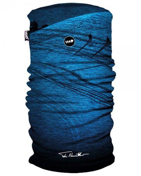 HAD Schlauchtuch Printed Fleece Tube Powderday Blue