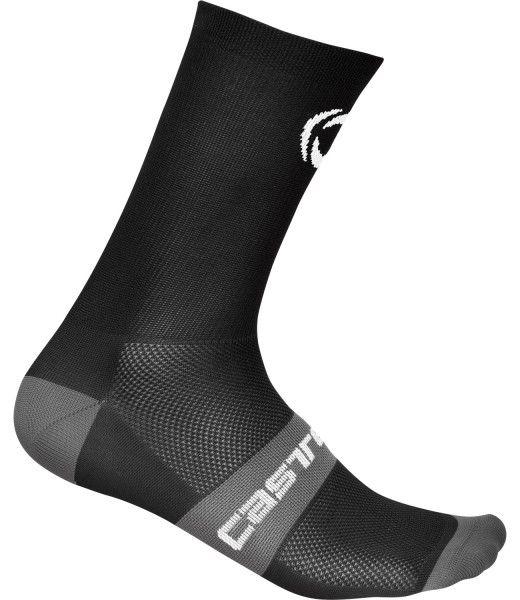 TEAM INEOS 2020 Socken schwarz - Castelli Radsport-Profi-Team XXL (44-47)