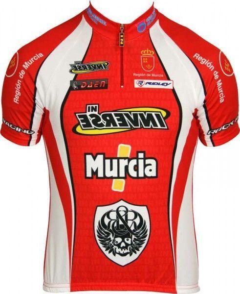 MURCIA Inverse Radsport-Profi-Team - Kurzarmtrikot mit kurzem Reißverschluss Größe S (2)