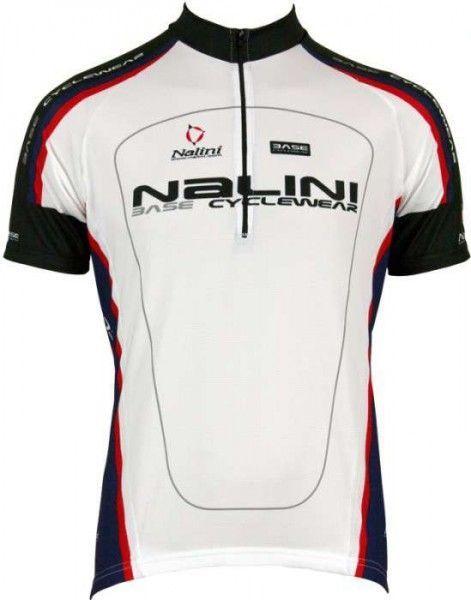 Nalini Base Radsport Kurzarmtrikot ARGENTITE weiß