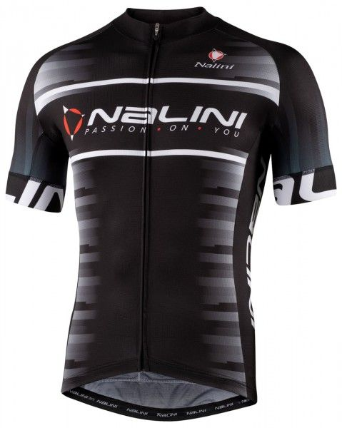 Nalini Borgo Fahrrad Kurzarmtrikot schwarz 1