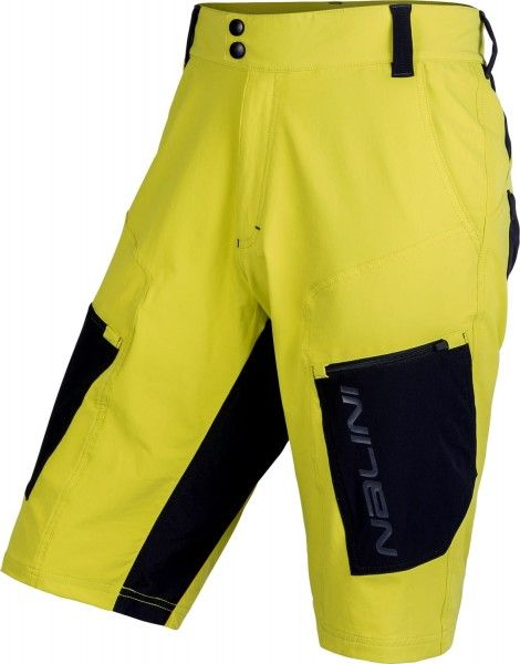 Nalini CLICK SHORT Bike-Short gelb/schwarz 1