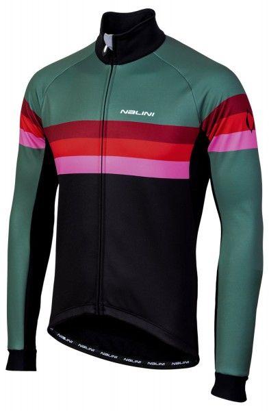 Nalini Winterjacke Crit Warm Jacket 2.0 schwarz/grün 1