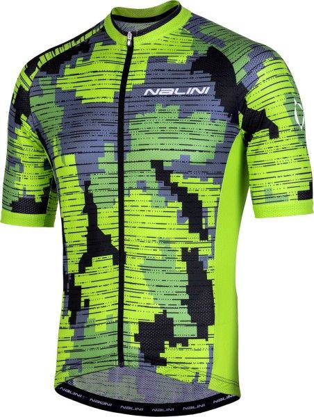 Nalini CROSS 2.0 MTB short sleeve cycling jersey yellow/black (E19-4050)