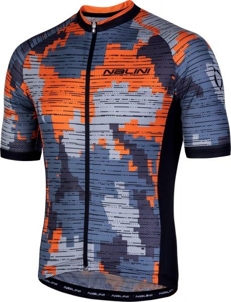 Nalini CROSS 2.0 Radtrikot kurzarm orange/grau 1