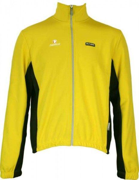 DIAMANTE gelb - Winterjacke (Thermo - Jacke) - NALINI Radsportbekleidung aus der Base - Kollektion