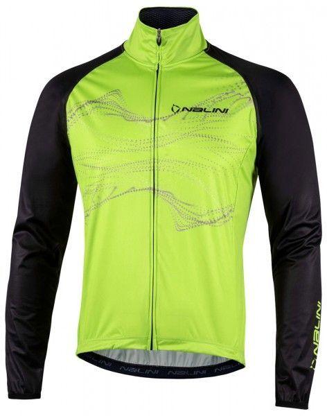 Nalini Eco Wind Jacket Fahrrad Windjacke hellgrün/schwarz 1
