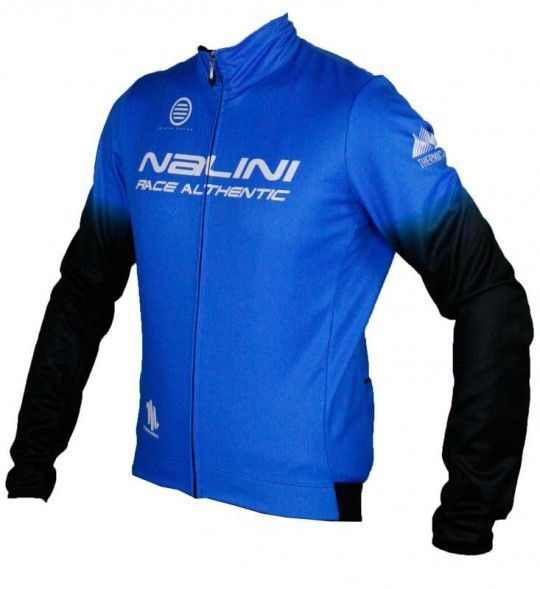 Übergröße Nalini PRO ADHARA B Fahrrad Winterjacke blau (I17-4200)