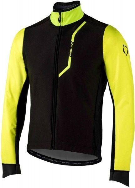 Nalini PRO Pro Gara Jkt Fahrrad Winterjacke schwarz/gelb (I18-4050) Größe M (3)