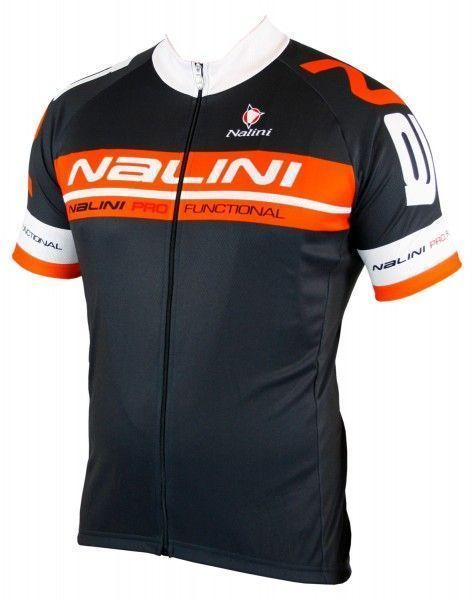 Nalini KENTY Radtrikot kurzarm anthrazit/orange 1