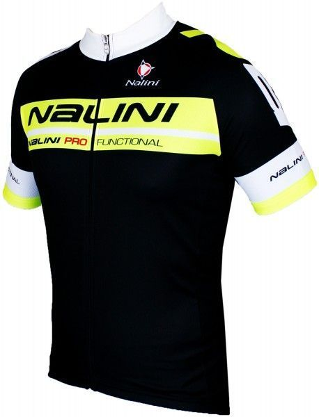 Nalini Kenty Radtrikot kurzarm schwarz gelb 1