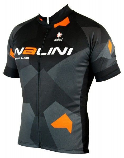 Nalini KRYPTONY Radtrikot kurzarm schwarz/orange 1