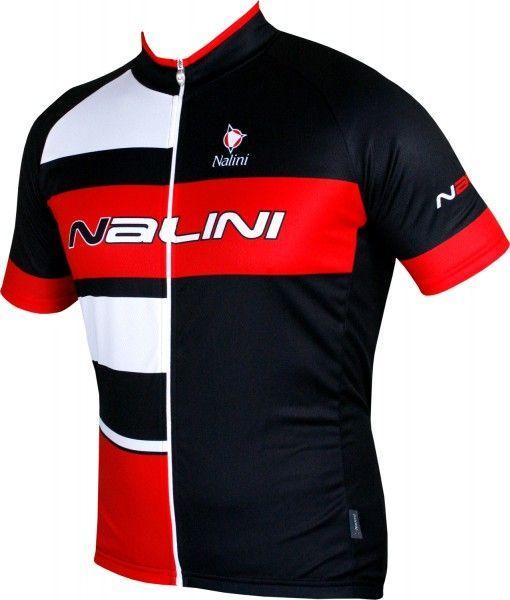 Übergröße Nalini PRO ROGILETTO Radtrikot kurzarm schwarz/rot (5100) Größe 5XL (9)