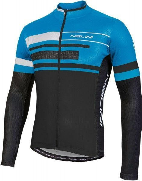Nalini PRO FATICA JERSEY LS long sleeve cycling jersey blue (I18-4200)