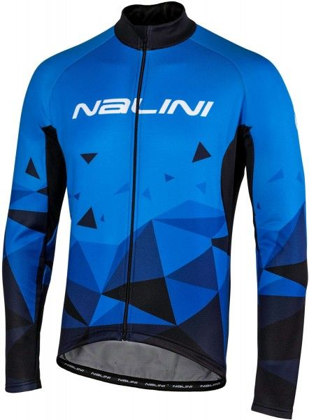 Nalini Langarmtrikot Logo Jersey blau 4200 1