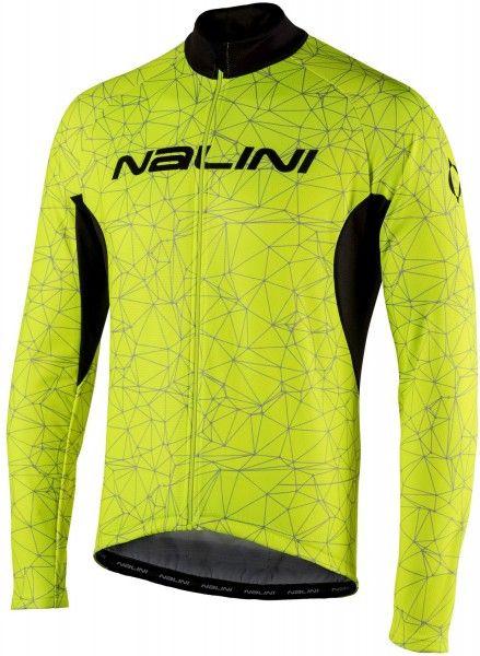 Nalini Langarmtrikot Logo Ti gelb 4050 1