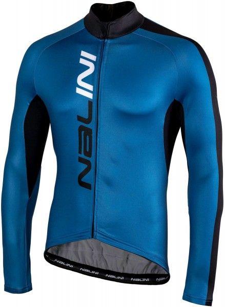 Nalini PRO Nalini LW Jersey Radtrikot Langarm blau (I18-4200) Größe M (3)