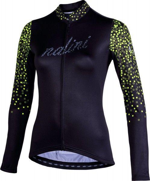 Nalini LW Lady Jersey 2.0 Langarmtrikot Damen schwarz/gelb 1