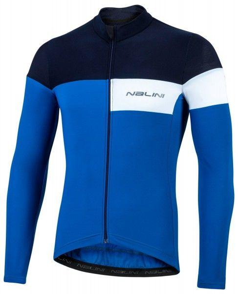 Nalini Pro Corsa Jersey Fahrrad Langarmtrikot blau 1