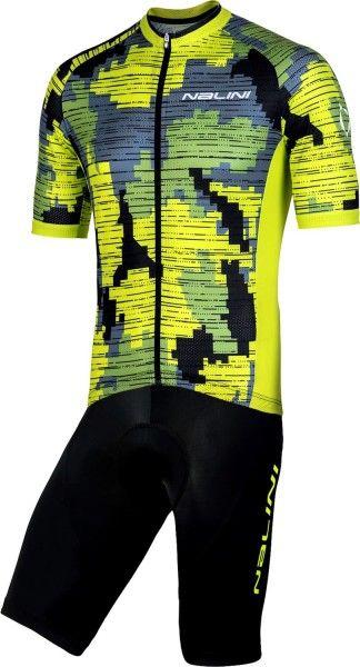 Nalini Radsport-Set (CROSS 2.0 + SQUADRA) gelb