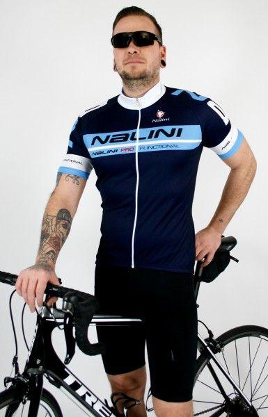 Nalini Radsport-Set (Kenty + Sisco2) blau/schwarz