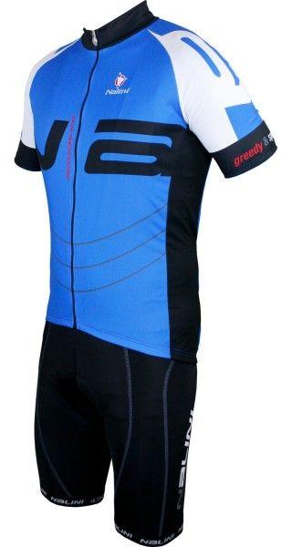 Nalini Radsport-Set (THUNDER + DAKUNA) blau/schwarz