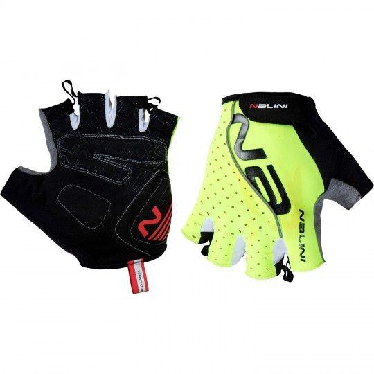 Nalini PRO Red Gloves Kurzfingerhandschuh neongelb (E19-4050) Größe XL (10)