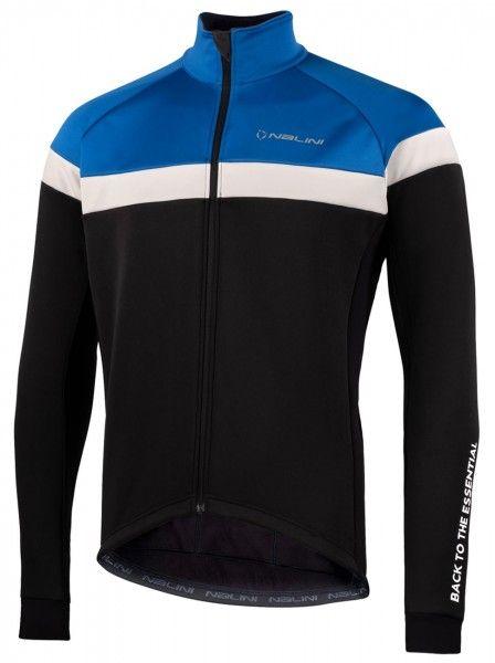 Nalini Road Jkt Fahrrad Winterjacke schwarz/blau 1