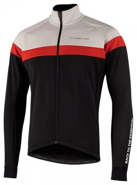 Nalini Road Jkt Fahrrad Winterjacke schwarz/hellgrau 1
