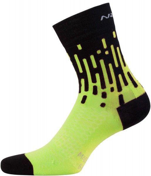 Nalini PRO TORNADO Radsocken schwarz/gelb (E18-4050)
