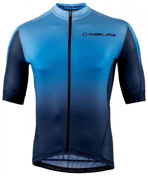 Nalini Speed Jersey Fahrrad Kurzarmtrikot blau 1